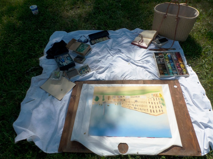 artists picnic p